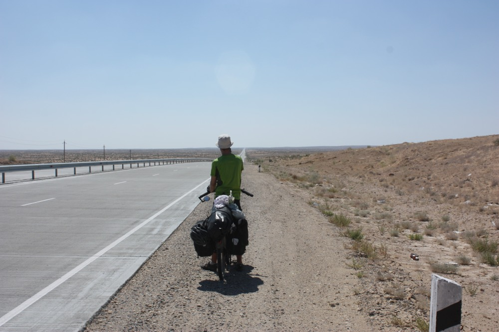 Miles and miles of dry nothingness