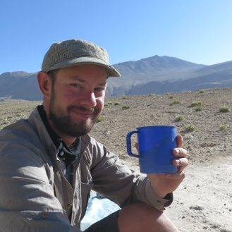 $10 bag of Lavazza coffee from Dushanbe: excellent for morale. Photo courtesy of Hubert